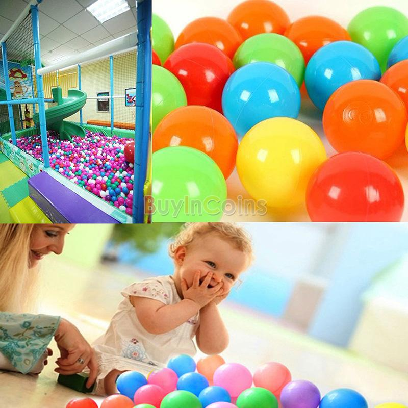 Outdoor / Indoor Kids Game Play Children Toy Portable Ocean Ball Pit Pool Tool+100pcs Colorful Fun Ocean Ball
