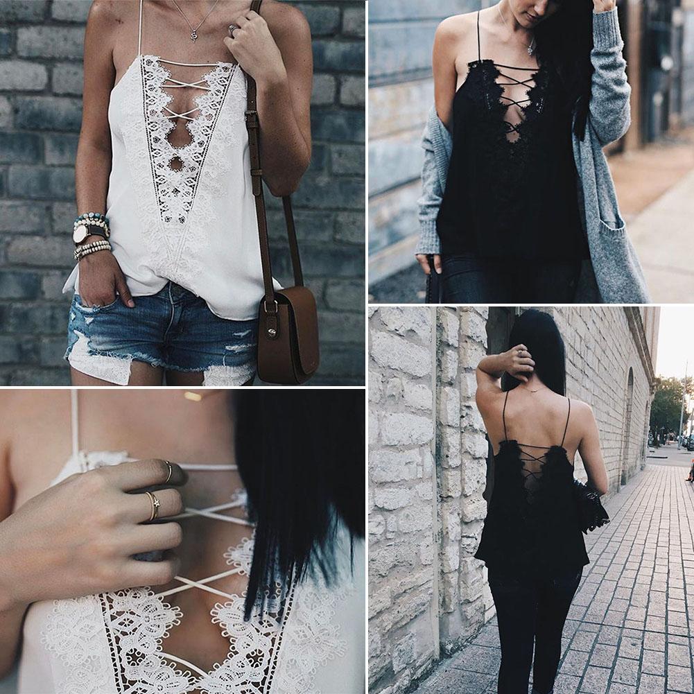 Fashion Womens Sleeveless Casual Shirt Blouse Tank T-shirt New Summer Vest Tops