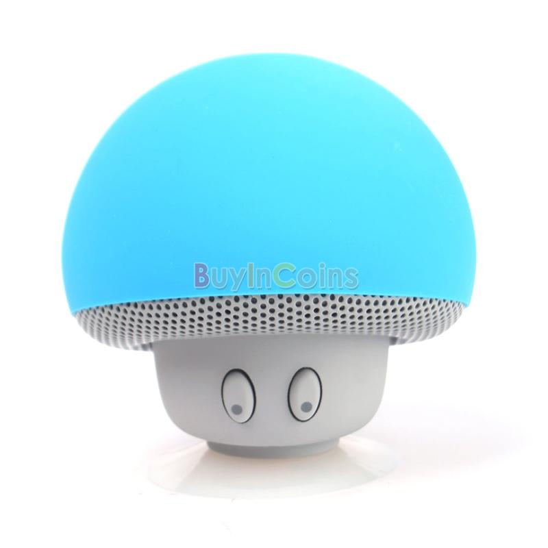 Mini Portable Mushroom Bluetooth Wireless Handfree Speaker for Phone MP3 Laptop