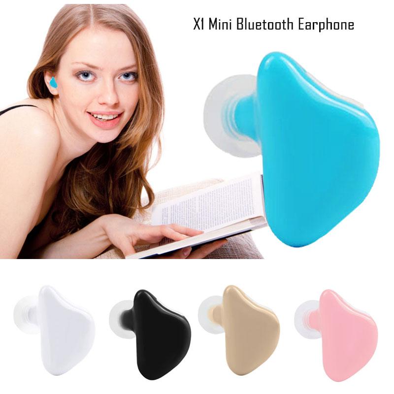 X1 Mini Wireless Stereo Bluetooth Earphone In-ear Earbuds Handsfree for iPhone iPad Blackberry HTC