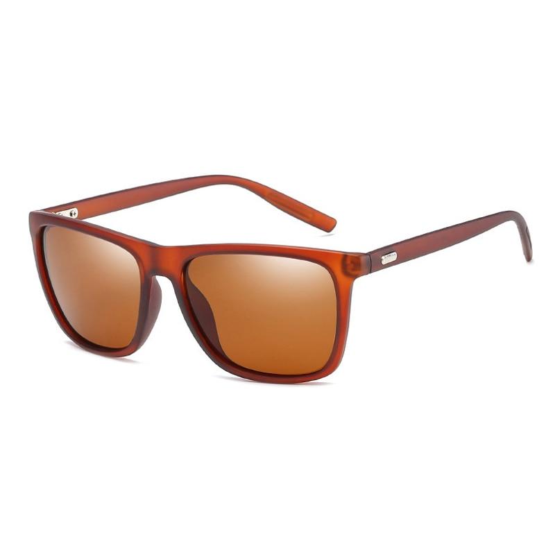 Polaroid sunglasses Unisex Square Vintage Sun Glasses Famous Brand Sunglases polarized Sunglasses retro Feminino For Women Men