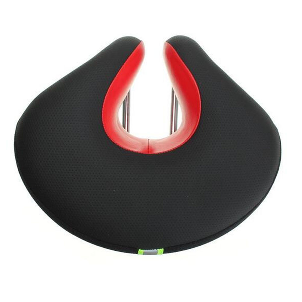 U Style Ergonomic Bicycle Saddle Noseless Cycling MTB Seats Reflective Tape Bike Cushion