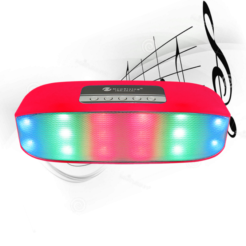 NR-2014 Wireless Bluetooth Speaker Loudspeaker Support USB/TF Card/Memory Card