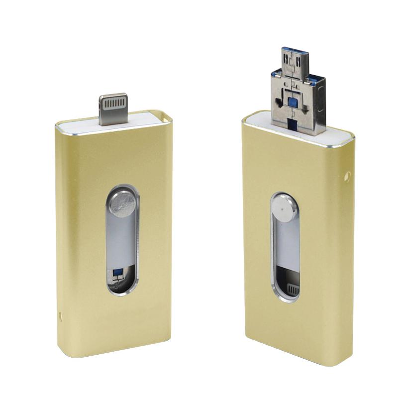 OTG USB 8GB i-Flash Drive For iPhone iPad iPod Mobile Drive U Disk