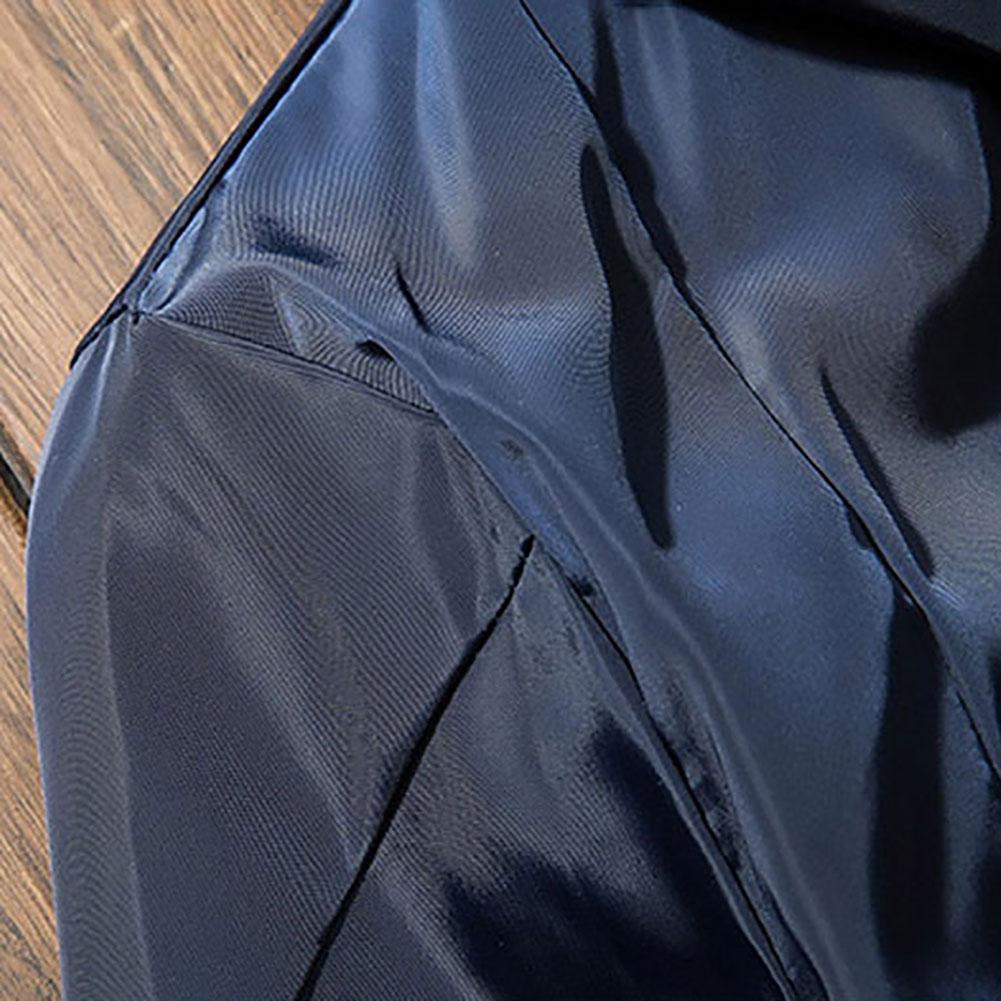 2017 Men's Slim Jacket Bomber Jacket Coat thin Outwear Collar Tops