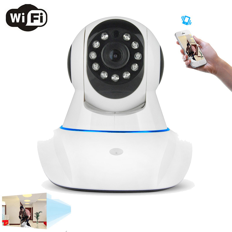 New Wireless IP Camera 720P Pan Tilt Network Security CCTV Night Vision WiFi Cam