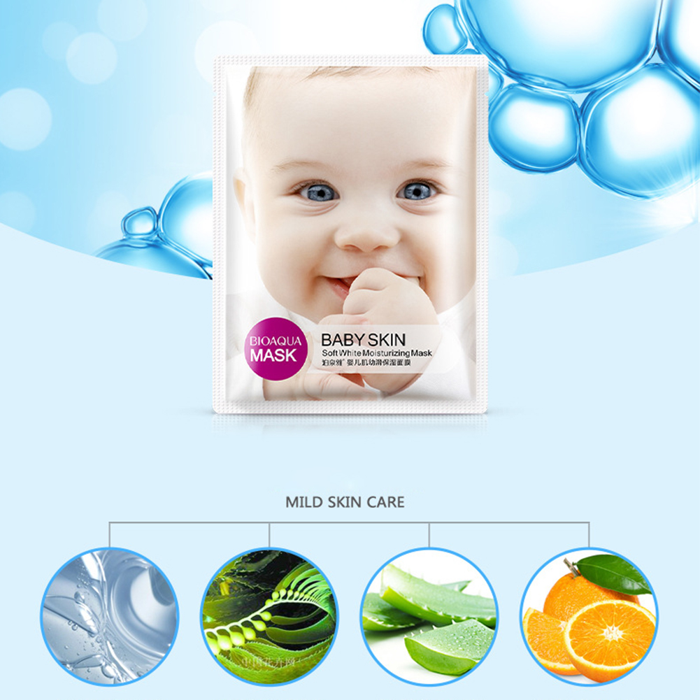 30ml Moisturizing Face Mask Anti-aging Whitening Wrapped Mask Oil Control Facial Smooth Like Baby Skin