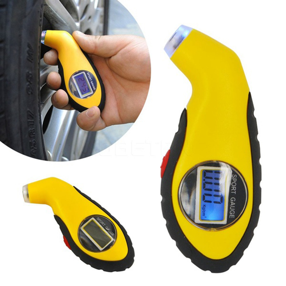 0-100PSI LED Digital Tire Tyre Air Pressure Gauge Tester For Auto Car Motorcycle New