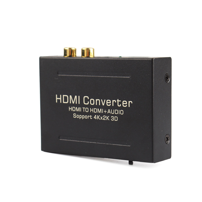 HDMI/HDMI Audio Extractor 3.5 4Kx2K Support SPDIF + R/L analog Audio Output Converter