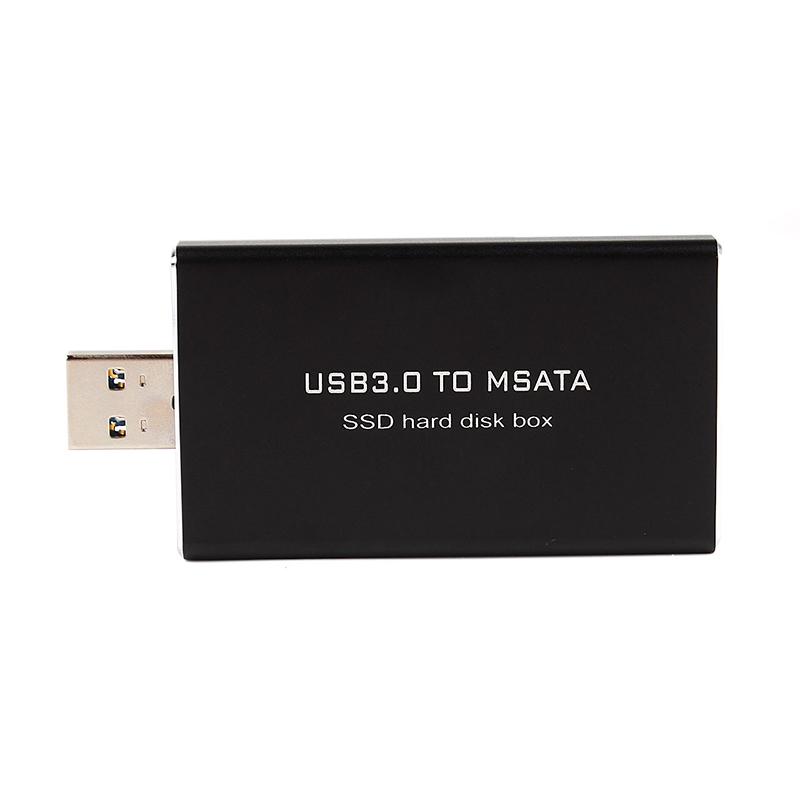 SR External mSATA SSD to USB 3.0 Super Speed Converter Adapter Enclosure Case