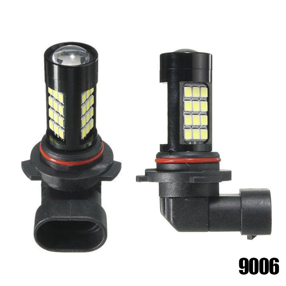 2Pcs 9005/9006/H4/H11/H7 42 SMD LED White 2835 Canbus Error Free Fog Light Bulb 6500K