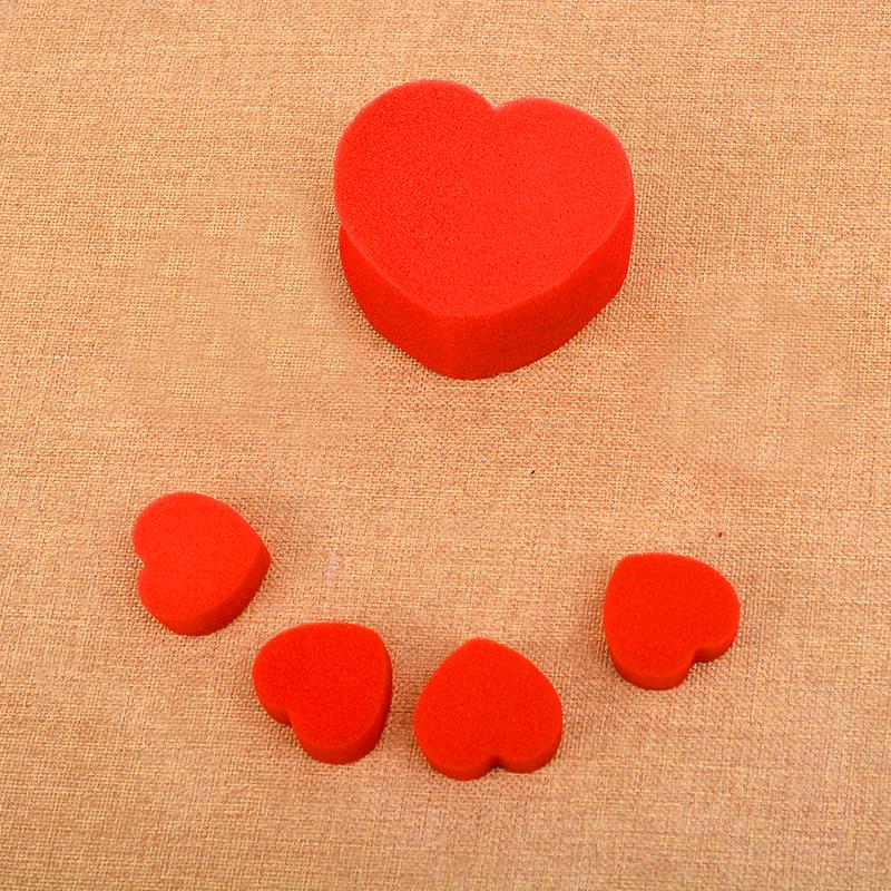 5Pcs Soft Sponge Red Balls Close-Up Magic Street Party Trick Prop