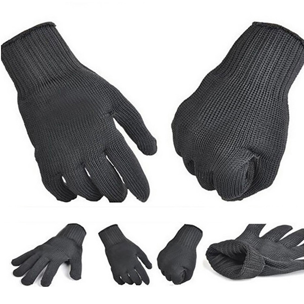 Anti Cutting Gloves Strengthen Protect Safety Self Defense Cut Breathable Work Gloves Labor Glove