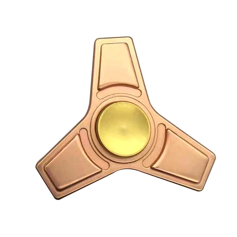 Tri Fidget Alloy Hand Spinner Toys Ceramic Focus Toys EDC Finger Stress Games