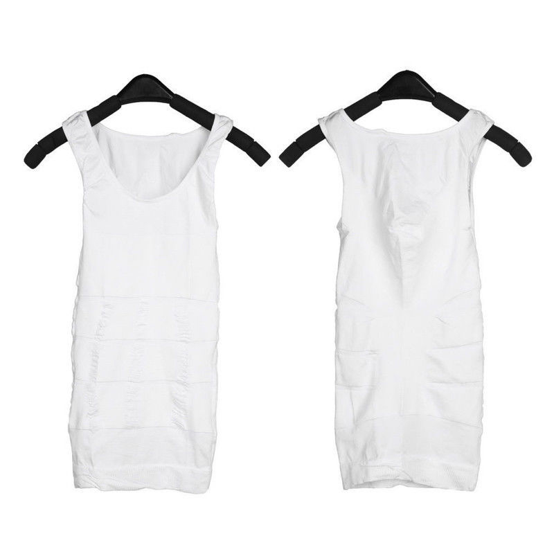 Sexy Men Body Slimming Tummy Belly Underwear Shapewear Waist Girdle Shirt M