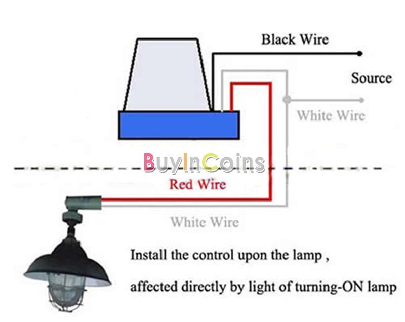 Ac Dc 220v 10a Auto On Off Photocell Street Light Photoswitch Sensor Switch 1 Need Wish