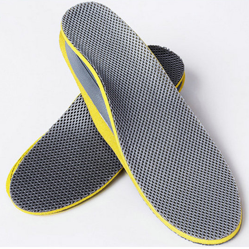 1Pair 3D Premium Comfortable Orthotic Insoles Inserts High Arch Support Pad