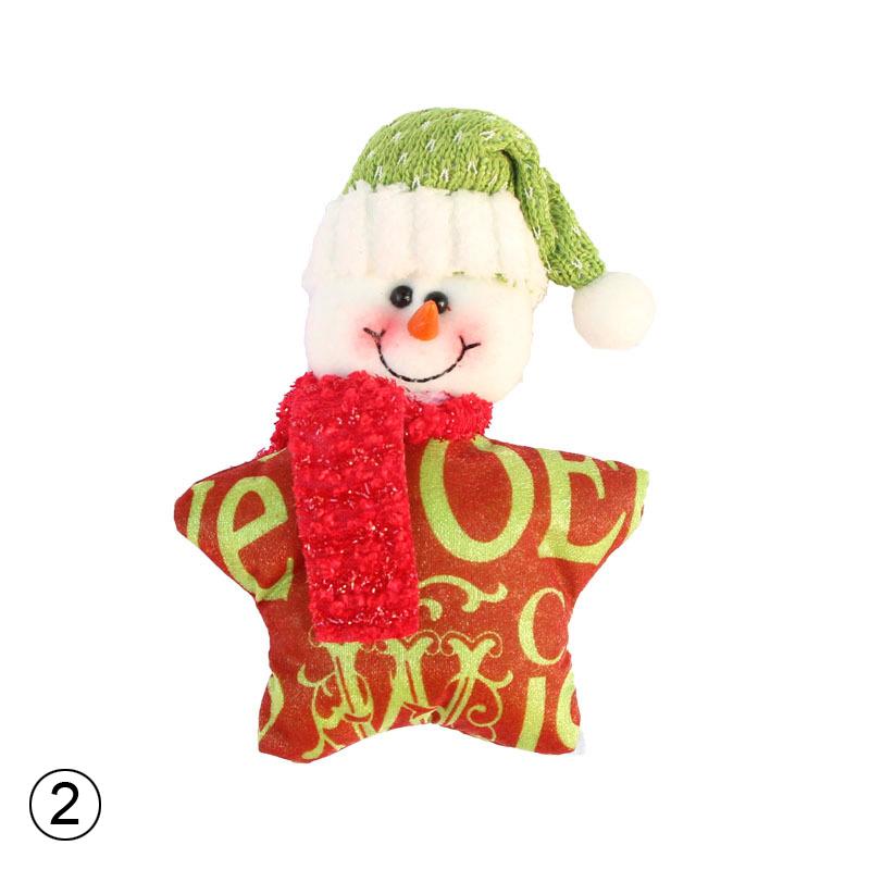 Christmas Ornaments Christmas Tree Santa Claus Snowman Pendants Drop Christmas Decor Hang