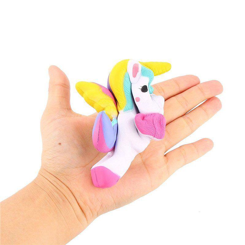 Simulation Unicorn Squishy Soft Phone Straps Cell Phone Charm Key Straps