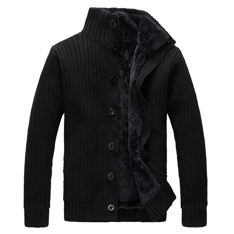 Men's turtleneck winter wear sweater coat cardigan autum