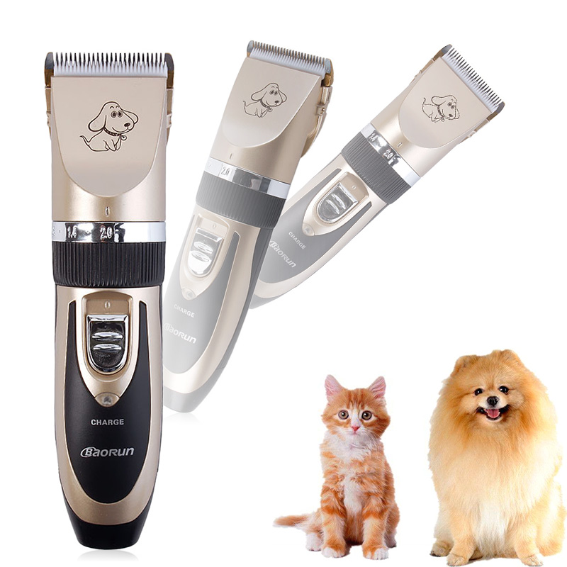 Professional Grooming Kit Animal Pet Cat Dog Hair Trimmer Clipper Shaver Set