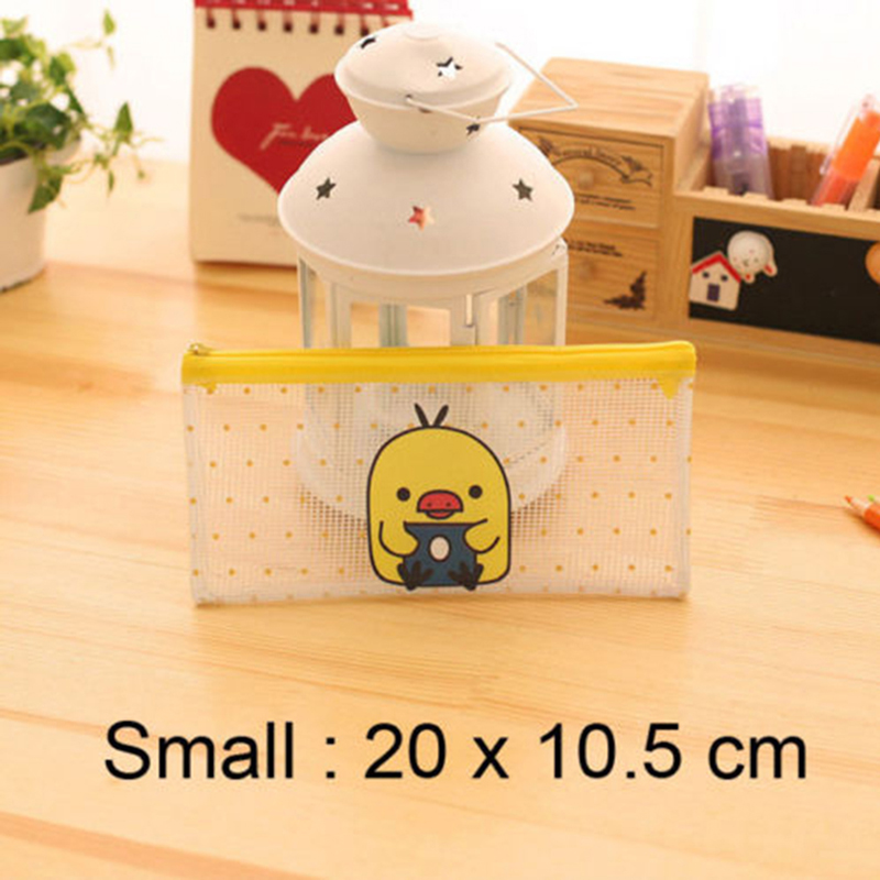 Catoon Image File Bag Document Bag Folder Stationery Pen Bag Container