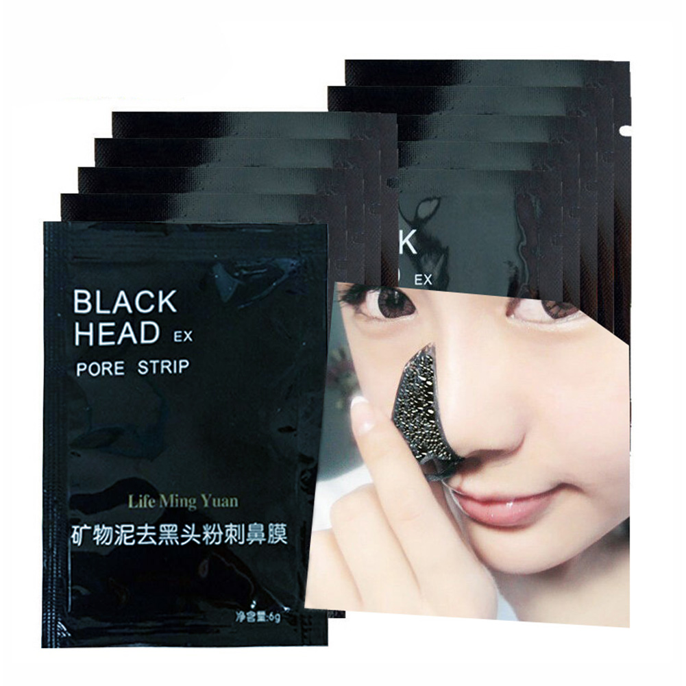 6g Peel Off Mask Nose Strips to Remove Blackheads Pore Mask Strips Acne Treatment Face Care Makeup