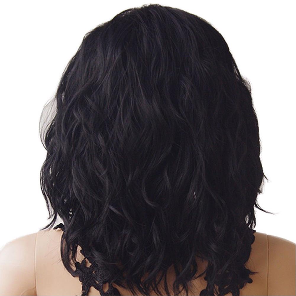 Fashion Women Natural Wave Wig For Black Women Hair Long water wave Bob