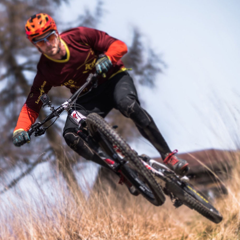 Bicycle Handlebar Mount Holder Rearview Mirror Bracket Driving Recorder DV Bracket