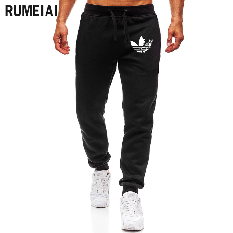 2019 High Quality ADI Jogger Pants Men Fitness Bodybuilding Gyms Pants For Runners Brand Clothing Autumn Sweat Trousers Britches