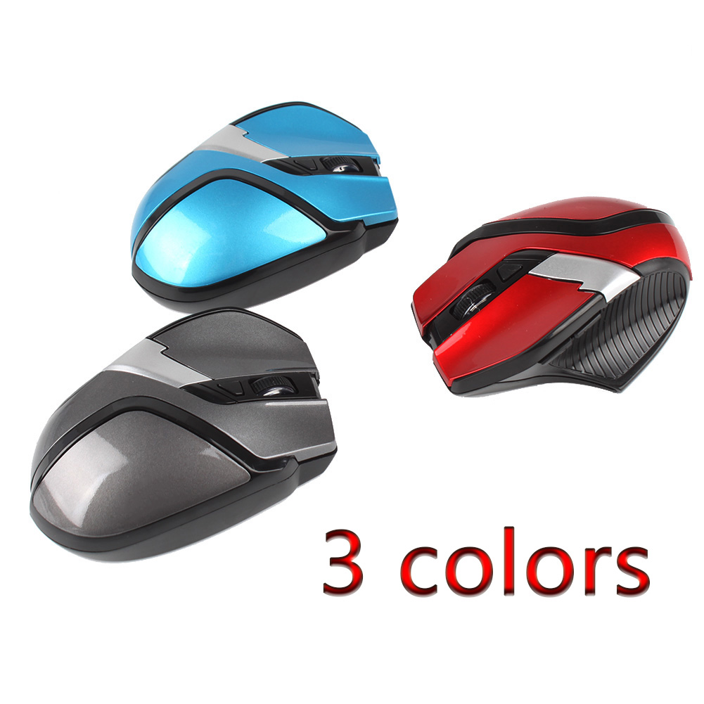 2.4GHz High Quality Wireless Optical Mouse Mice + USB 2.0 Receiver for PC Laptop #JY-15