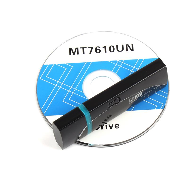 AC600 WPS WiFi Adapter Dual Band USB Wireless Network Card 2.4Ghz 5GHz Mini