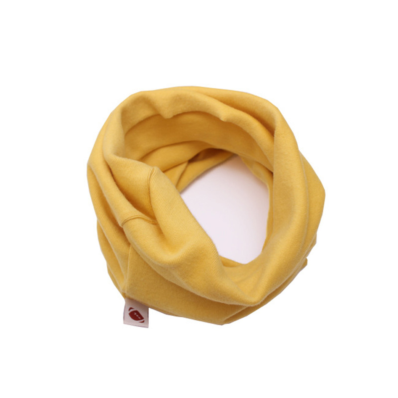 Scarf Chirldren Boys Girls Fashion O Ring Knitted Baby Child Candy Color Autumn