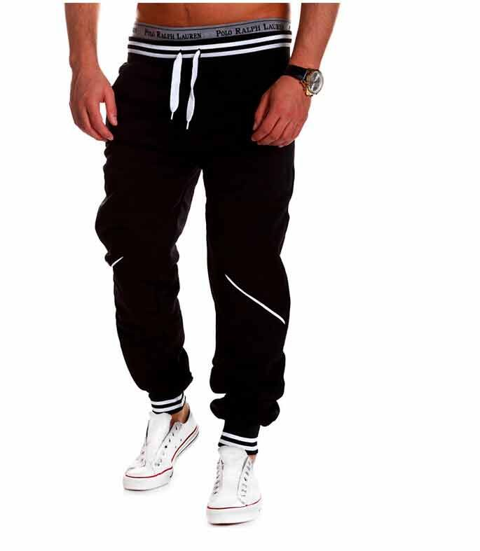 Active Man Active Wide Cut Sport Pants Chinese Pants - One Color