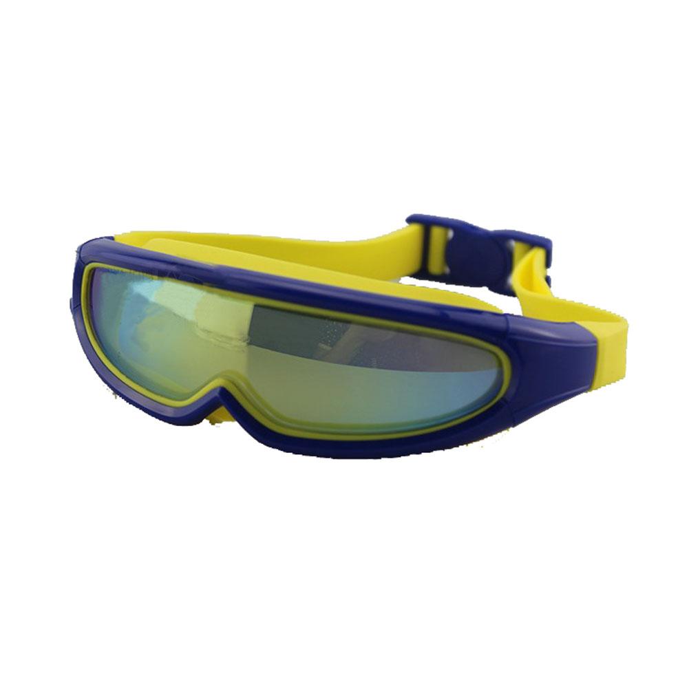 Children Swimming Goggles Kids Snorkel Mask HD Electroplated Swim Glasses