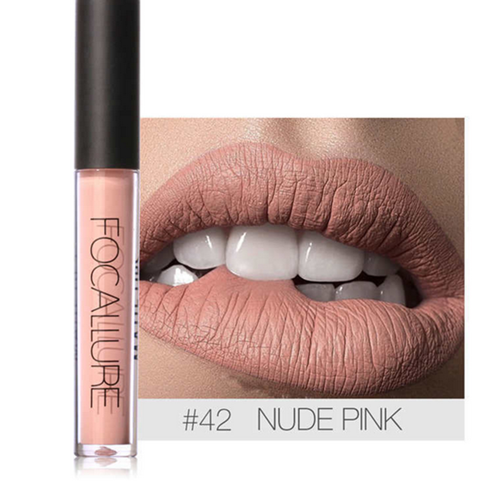 6ML Soft Matte Lip Cream Lip Gloss Matte Shimmer Glitter Matte Long Wear Lipstick Lip gloss