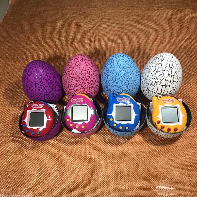 Dinosaur Egg Tumbler Tamagotchi Toy Digital Pets Electronic Retro Funny Toy