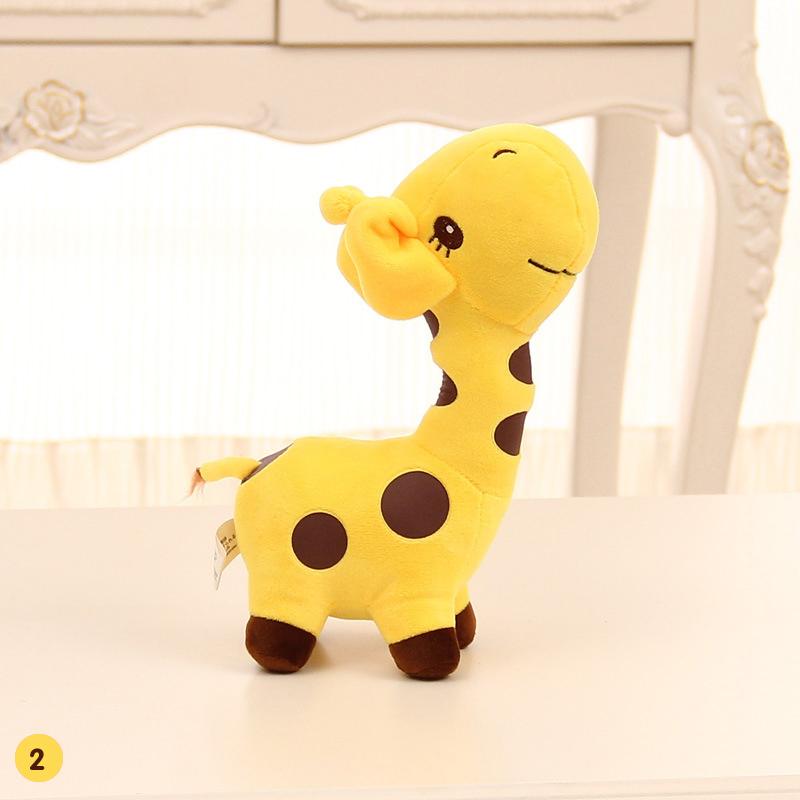 18/38cm Cute Giraffe Plush Toys Stuffed Creative Giraffe Pillow Doll Soft Cushion Gift