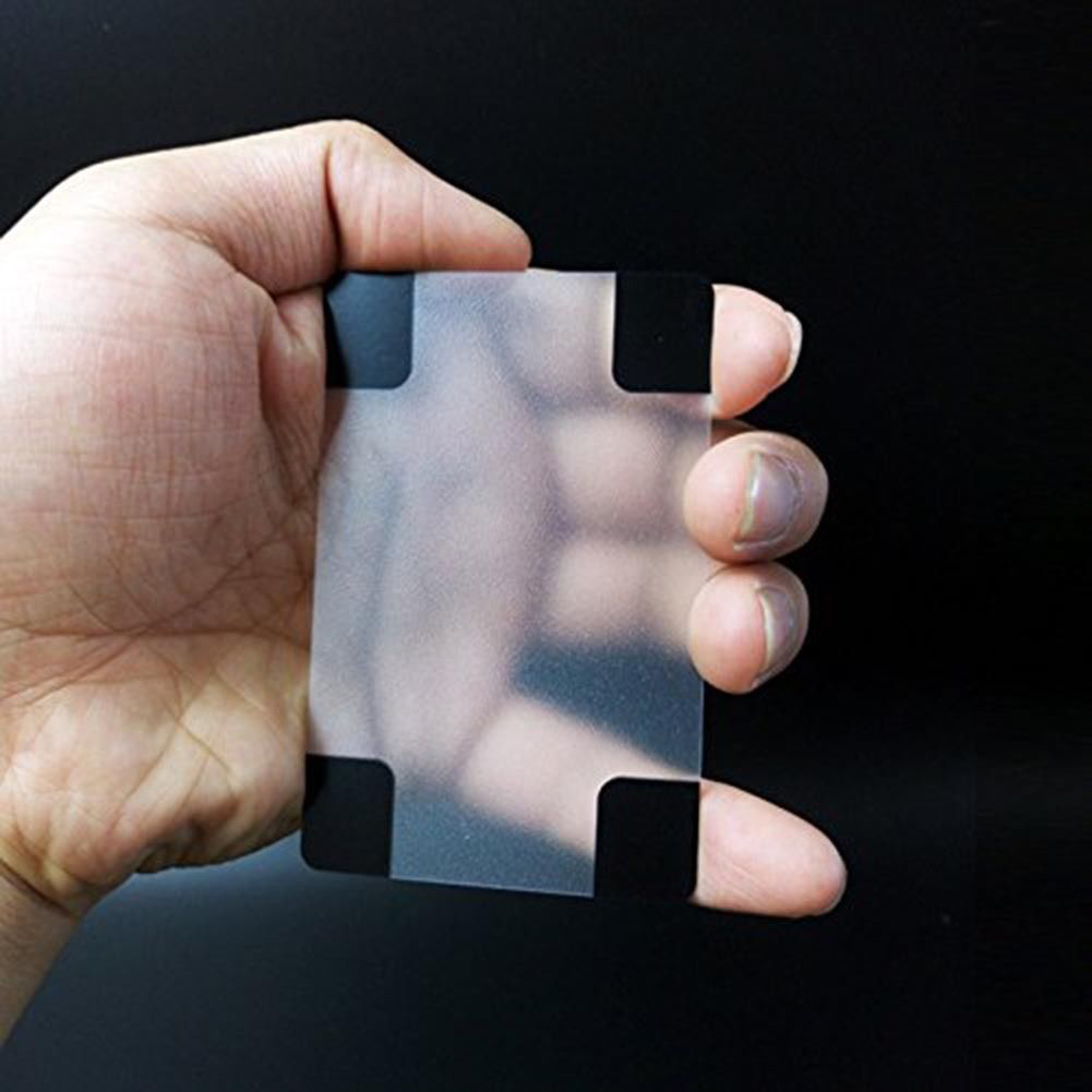 Waterproof Clear Poker Cards Matte Transparent Magic Deck Cards Game