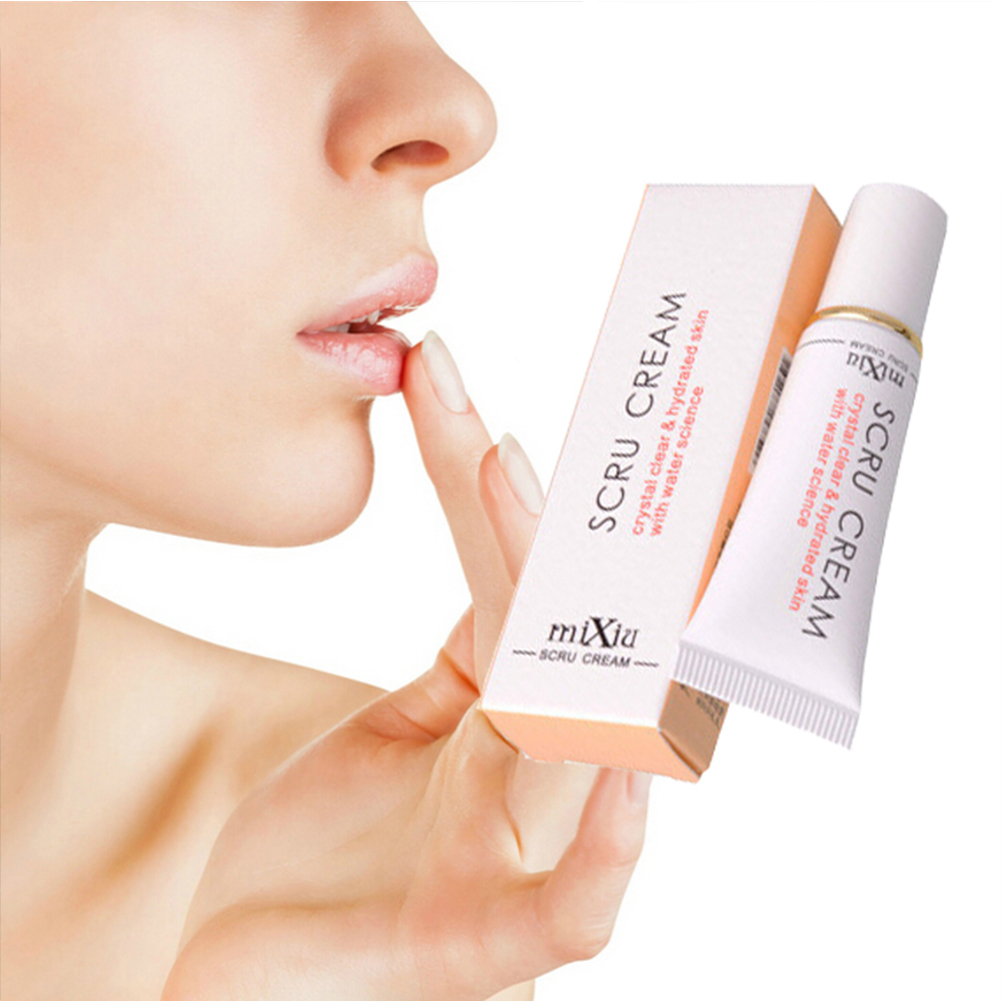 12G Professional Cosmetics Moistourizing Lip Mask Anti Aging Anti Wrinkle Transparent Lip Scrub Care Lip Exfoliating Gel