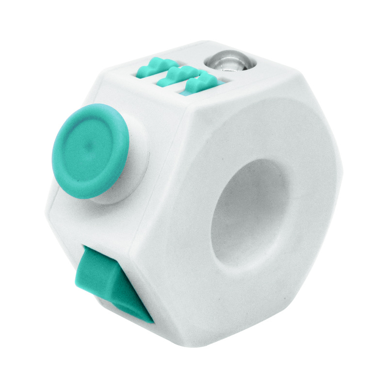 Magic Fidget Cube Ring Anxiety Stress Ring Toy Relief Focus Gift For Adult Kids