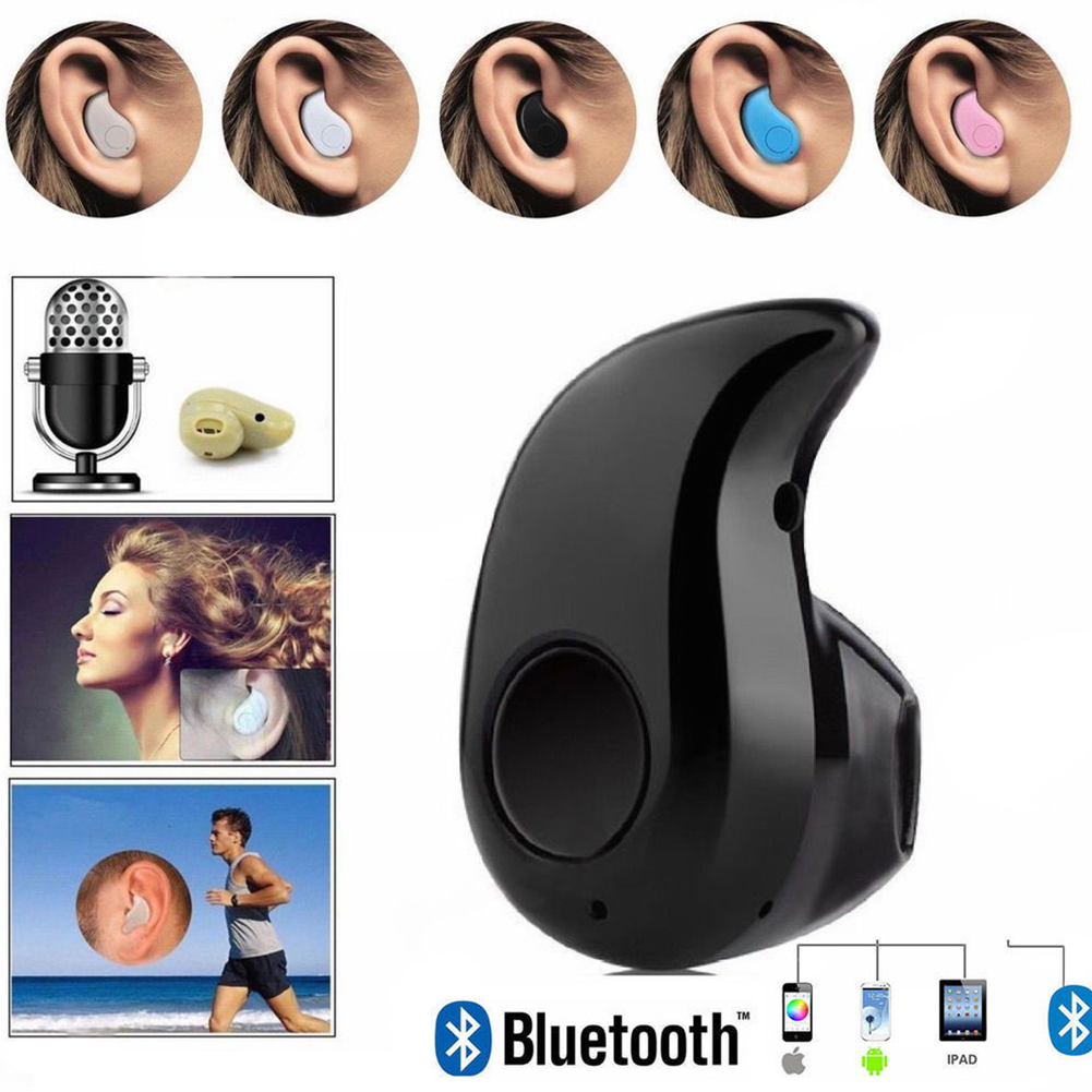 Mini Wireless Bluetooth Sports Headset Earphone Earbuds with MIC For iPhone Smart Phones