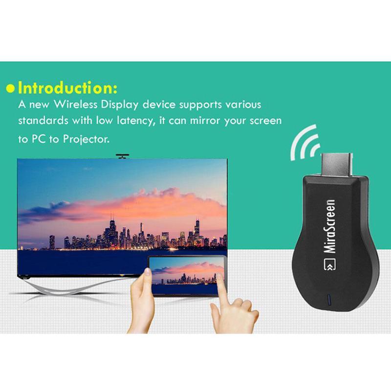 MiraScreen WIFI HD HDMI 1080P Receiver Display TV Stick Miracast DLNA Airplay