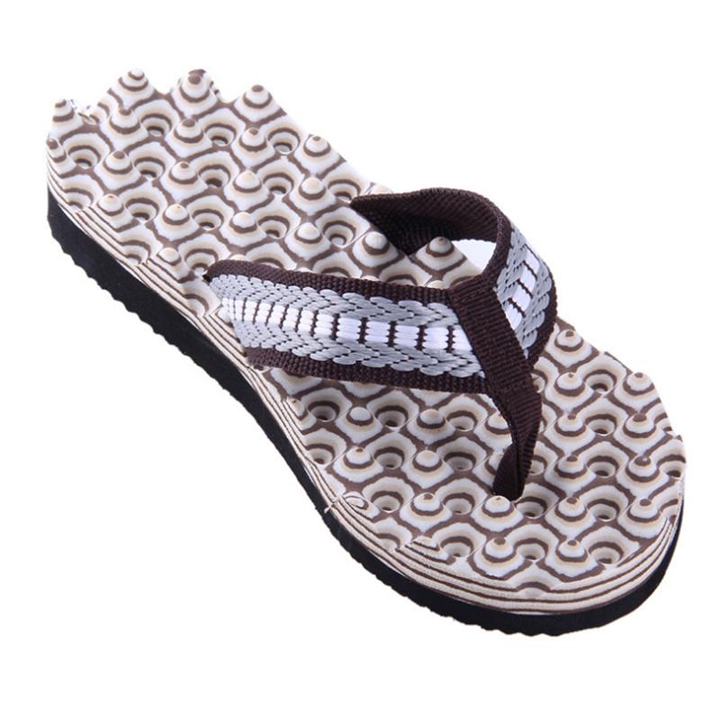 Casual Hot Beach Men Flat Flip Flops Sandals Massage Thong EVA Slippers