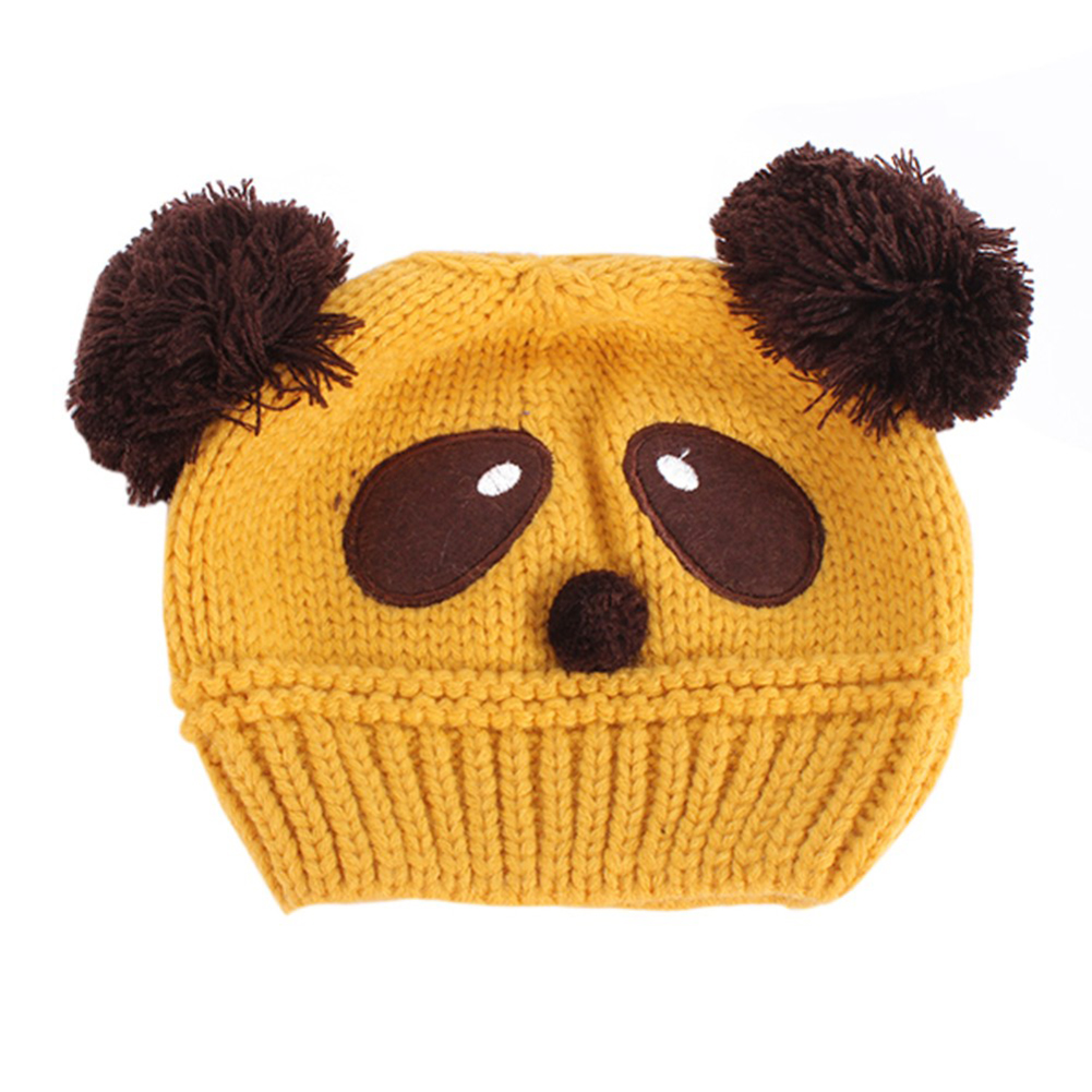 Baby girl boy cute panda infant warm winter Toddler cartoon hat girls caps beanies headwear