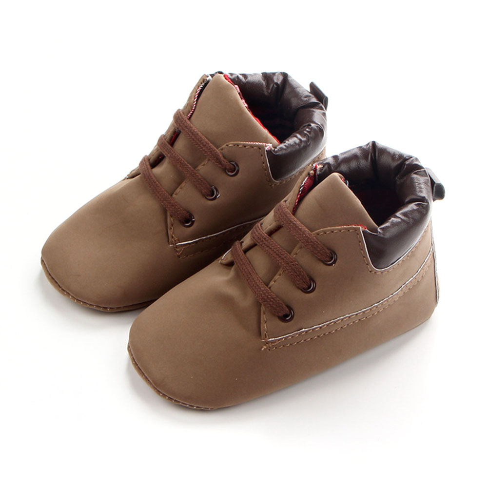 Baby Soft Shoes Footwear Newborn Baby Boys Casual Flock First Walkers
