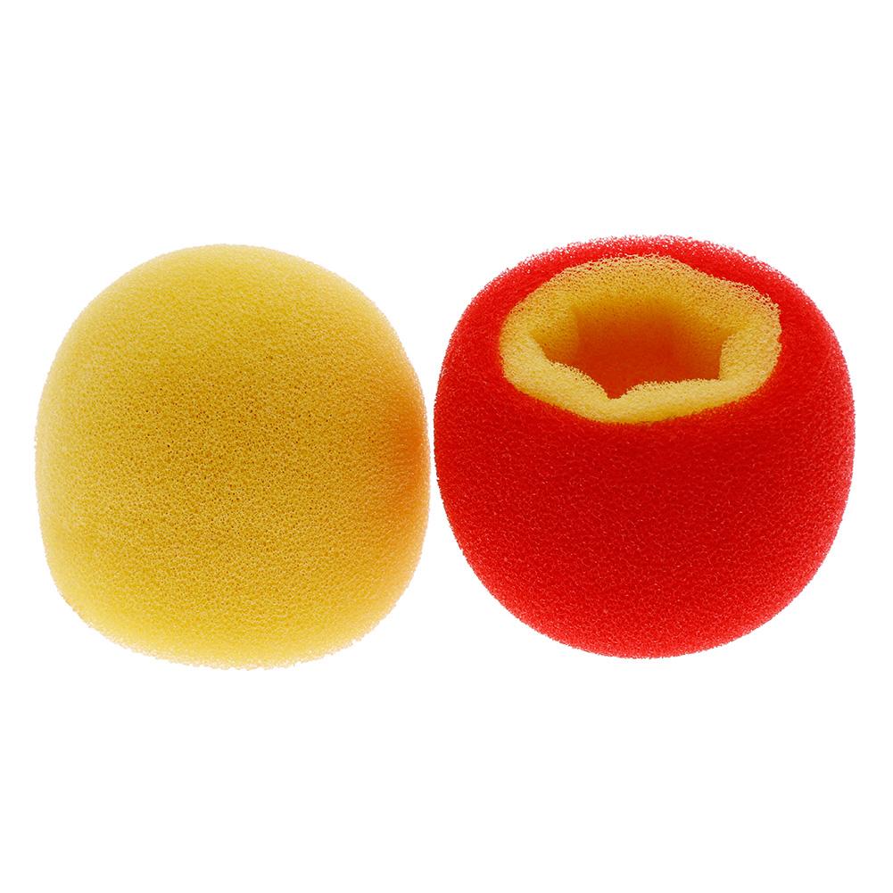 2PCS Color Change Sponge Balls Magic Tricks Props Close up Show Toys