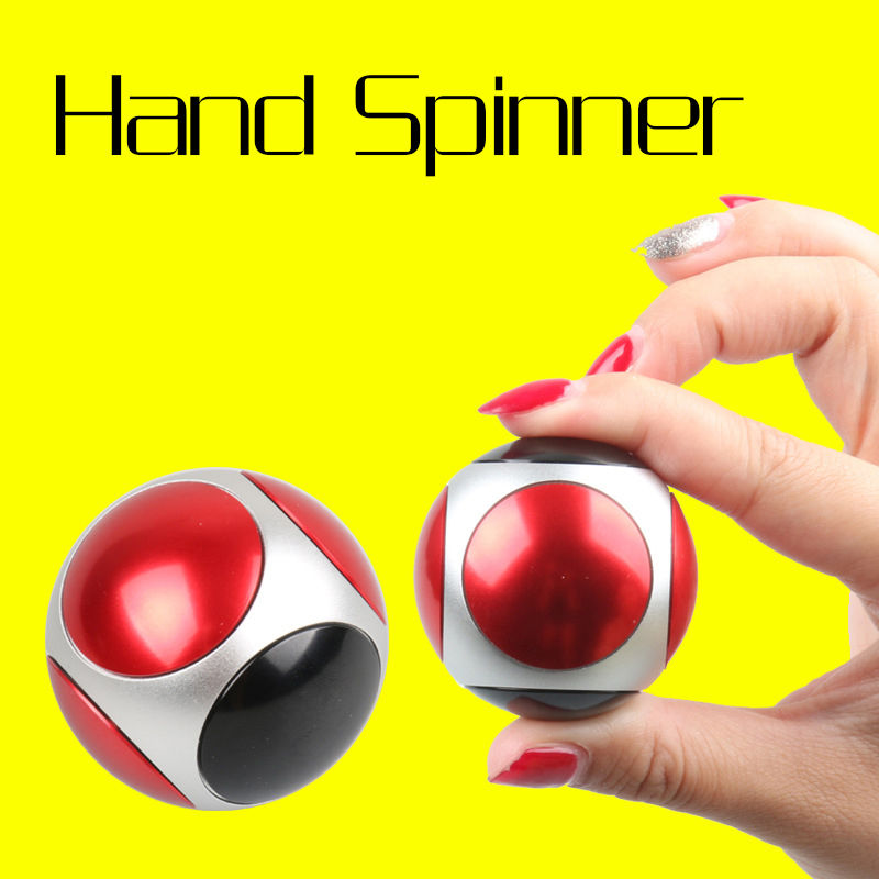Six Sides Rotate Hand Spinner Anxiety Stress EDC Finger Spinner Desk Focus Toy