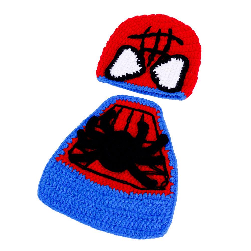 Cute Cartoon Newborn Baby Boy Girl Bebe Handmade Crochet Knit Cool Photo Prop Halloween
