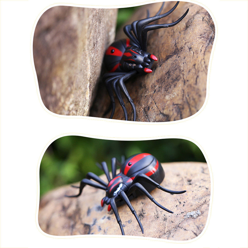 Infrared Remote Control Spider Animal Toy Prank Insects Joke Scary Trick Toys